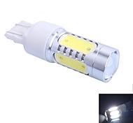 GC® T20 11W 600lm 5-LED White LED Car Turn Steering / Tail / Signal / Brake Light Lamp (DC12-24V)
