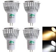 4 Stück Zweihnder Dekorativ Spot Lampen MR16/S 3 W 280 LM 3000-3500/6000-6500 K 3 Dip LED Warmes Weiß/Kühles Weiß AC 100-240 V