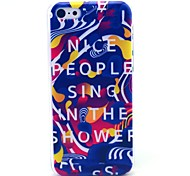 Nice People Pattern Hard Cover Case for iPhone 5C