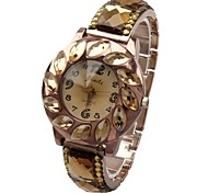 Women's Bracelet Watch Quartz Analog Sparkle Round Rose Gold/Silver