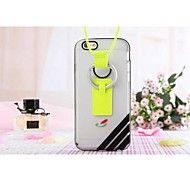 Lanyard TPU Back Case for iPhone 6 Plus (Assorted Colors)