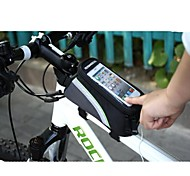 ROSWHEEL Outdoor Bicycle Front Bag with 5.5-inch Touchable Mobile Phone Screen 12496-5.5
