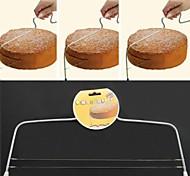 ustensiles de cuisson de haute qualité coupe de gâteau en acier inoxydable