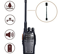 Baiston BST-3300 Walkie Talkie 6W 16CH 400-470MHz 2800mAh 3KM-5KMEmergency Alarm / PC Software Programmable / Voice Prompt / VOX /
