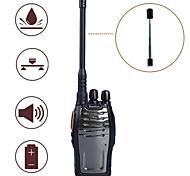 Baiston BST-3300 Rádio de Comunicação 6W 16CH 400 - 470 MHz 2800mAh 3 - 5 kmAlarme de Emergência / Programável com Software de PC /