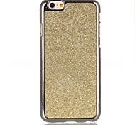 High Quality Plating Stick A Skin Glitter Pattern PU Hard Case for iPhone 6 Plus (Assorted Colors)