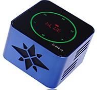 gookee altavoz subwoofer multifunción bluetooth mini altavoz portátil inalámbrico con teclas táctiles&tf&de radio fm