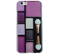 Make-up Foundation Pattern PC Hard Back Cover Case for iPhone 6