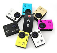 DV603D 1.5'' Screen 6G Lens 170 Degree Wide Angle 2Hrs Battery Life Wifi Action Camera with Remote No Zoom