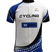 Jesocycling® Men's Spring & Autumn Breathable Polyester Short Sleeve Cycling Jersey Cycling Top