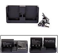 pannovo AHDBT-201 301 401 cargador de batería dual slot para Hero GoPro 2/3/3 + / 4