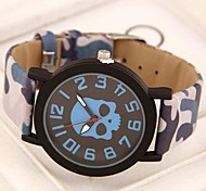 Women's Wild Skull Simple Casual Fashion Trend Watches