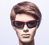 antiriflesso occhiali da sole rettangolo di plastica