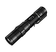 NITECORE MH10 1000 Lumens CREE XM-L2 U2 LED USB Charging Tactical Flashlight(1x18650/2xCR123A, Black)