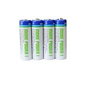 BPI aa 1.2v 2600mAh batteria ricaricabile Ni-MH (4ps)