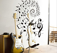 Revolving Music Note PVC Wall Sticker