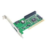3 Port SATA & IDE PCI Controller RAID Card Adapter VIA6421 Chipset for Hard Disk Drive & Server