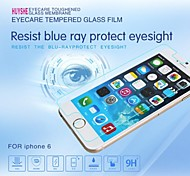 Anti-Blue Light Easy Installation 0.33mm with Cleaning Cloth Tempered Glass Screen Protector for iPhone 6 4.7Inch