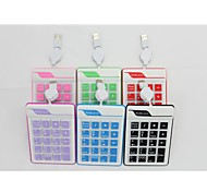 EW-19KB USB Wired Numeric Keypad(Assorted Color)