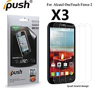 Ipush High Transparency HD LCD Screen Protector for Alcatel One Touch Fierce 2 (3 Pieces)