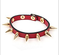 Tina -- Fashion Women's Alloy Rivet Leather Bracelet in Party