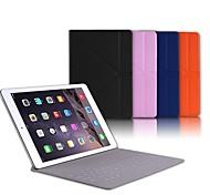 WOKA® Ultra Slim Bluetooth Keyboard Leather Case for ipad Air 2(Assorted Colors)
