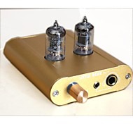 Little bear 6J1 Tube Valve Headphone Amplifier Preamplifier P2-1-Gold color