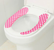 Japanese Polka Dot shaped Toilet Cleaning Cutting Mat(Random Color)