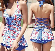Beach Honey®2015 Latest Hight Elasticity Polyster Cute Strawberry  Women Swimwear with Removable Steel Support Bra Pad