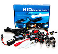 12V 55W H4 AC Hid Xenon Hight / Low Kit10000K Conversão