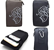 Design Especial - iPhone 5/iPhone 5S/iPhone 6 Plus/iPhone 6 - Bolsas ( Preto/Cinzento , Textil )