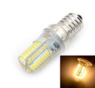 Marsing E14 6W LED Bulb Warm White Light 3000K 600lm SMD 3014 - White + Yellow (AC 220V)