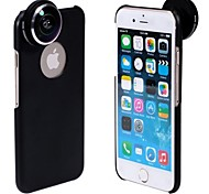APEXEL Detachable Screw-in Super Fish Eye Lens Wide Angle 235 Degree with Back Cover Case for iPhone 6 Plus