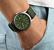 Мужской Наручные часы Календарь Кварцевый Материал Группа Черный Коричневый Зеленый