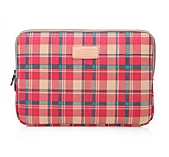 "14.1"" 15.6"" Checked Pattern Leopard Laptop Cover Sleeves Shakeproof Case for MacBook DELL ThinkPad HP SAMSUNG SONY"