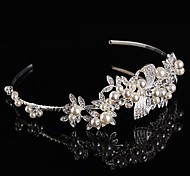 Bridal Baroque Crown Silver Tiara Queen Crystal Hairclips
