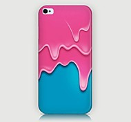 Ice-cream Pattern Back Case for iPhone4/4S