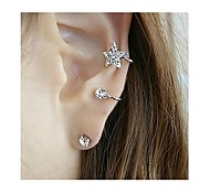 Tina -- Fashion Alloy Star Stud Earring in Party