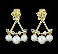 Wholesale Cheap Women Fake Pearl Earring Designs