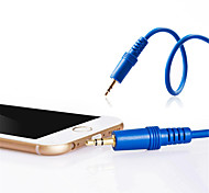 JSJ® 3.5MM Stereo Male to Male Audio Cable for Mobile Phone/Vehicle/ Family etc Sound Equipment(0.5M 1.64FT)