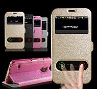 Samsung Samsung Galaxy S6 - Custodie integrali - Tinta unita - Cellulari Samsung ( Nero/Bianco/Rosa/Oro , Cuoio )