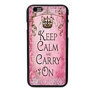 Carry ON Design Hard Case for iPhone 6