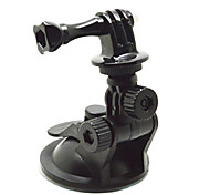 ventosa youoklight®mini para o uso do carro. Base de diâmetro 6,5 centímetros, para GoPro Hero 3 + / 3/2/1