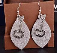 2015 Key Design Fashion Personality Europe Lady Frosted Earrings
