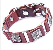 Tina -- Fashion Alloy Accessories Leather Vintage Bracelet in Party