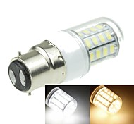 B22 7W 40x5630SMD 1600LM 3500K 6000K Warm White/Cool White Decorative Corn Bulbs  AC220-240V