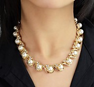 2015 Fashion Women Imitation Latest Design Pearl Necklace