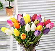 Set of 3 Natural Simulation Tulip Flowers
