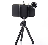 Camera Lens HD for iPhone4/4S 12x Long Focal Distance  Plastic Holder  (Assorted Colors)