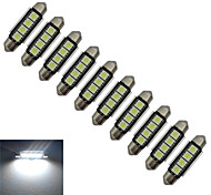 Festoon Luces Decorativas 4 SMD 5050 80-90lm lm Blanco Fresco DC 12 V 10 piezas